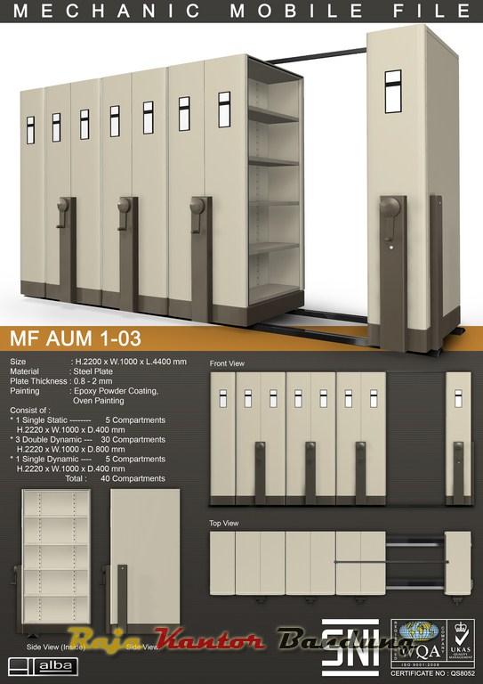 """""""Mobile File Mekanik Alba MF AUM 1-03"""""""