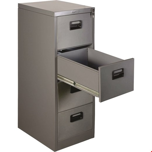 Filling Cabinet VIP 4 Laci (SV-304) Double Rail