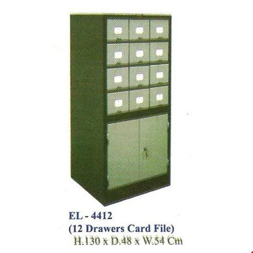 Lemari Arsip Elite EL-4412 (Card File)