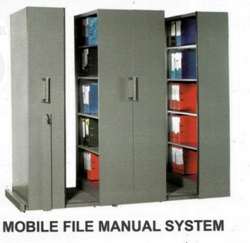 Mobile File Vip MFA-4BS185 (50 Compartements)